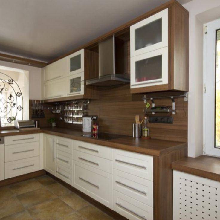 Kitchen Cookbook On End Of Cabinet