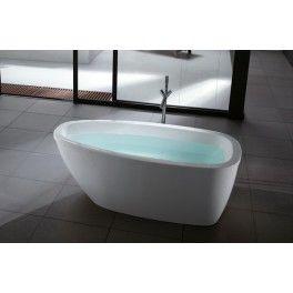 View Freestanding Bath.  This freestanding bath with a contemporary minimalistic design is ideal for a medium sized bathroom.        Description:  Dimension (MM): Bathtub1700 X 850 X 620
