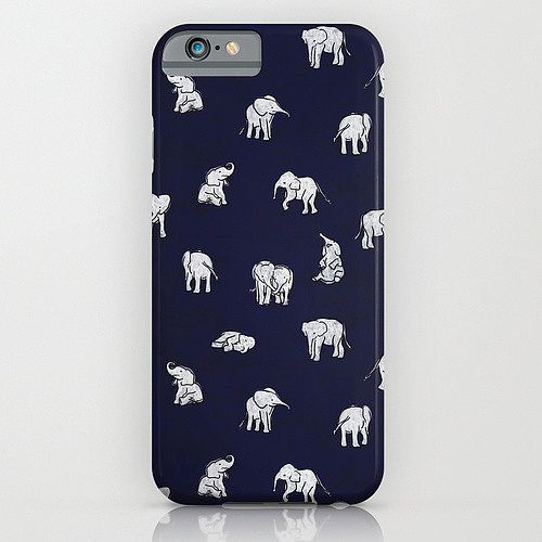 Baby elephants iPhone 6 case ($35)