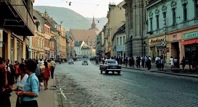 Brasov - Strada Muresenilor, anii '60.