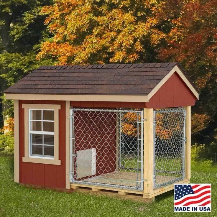 Amish Made Ez Fit Dog Kennel Kit Outdoor Dog Dog Houses