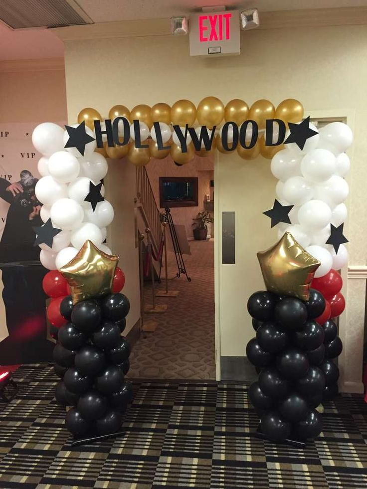 Hollywood Red Carpet Birthday Party Ideas | Photo 1 of 23 | Catch My Party