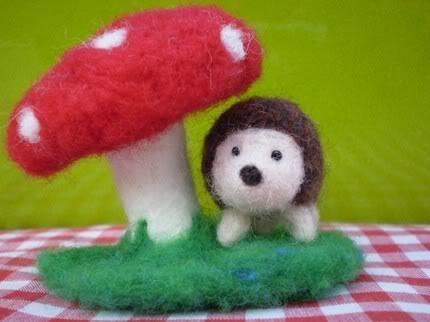 35 besten Of Hedgehogs & Toadstools Bilder auf Pinterest | Pilze ...