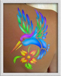 Bright and colorful tattoos   Bird Tattoos - Phoenix Bird Tattoos - Bird Tats LOVE THE COLORS!!!!!!