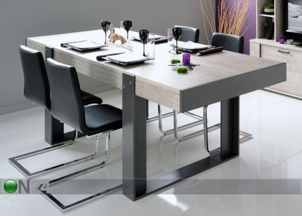 Ruokapöytä TRAVIS 90x224 cm