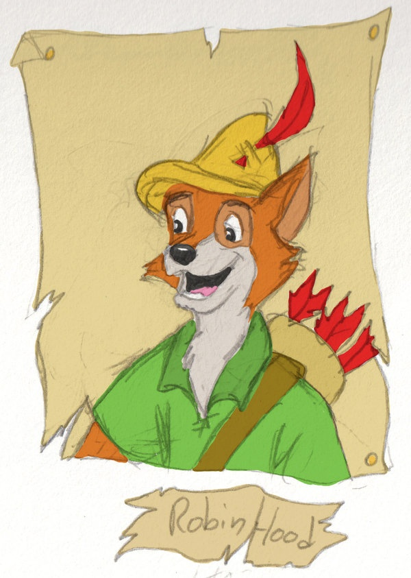 Day 14: Favorite Underrated Disney movie~ Robin Hood