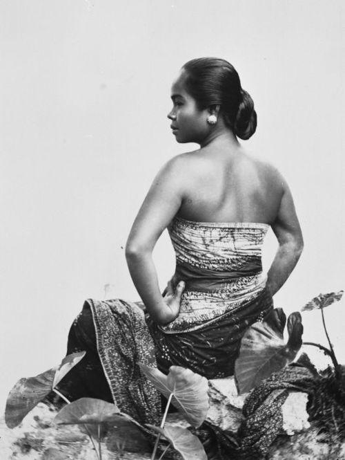 Indonesia ~ Javanese woman