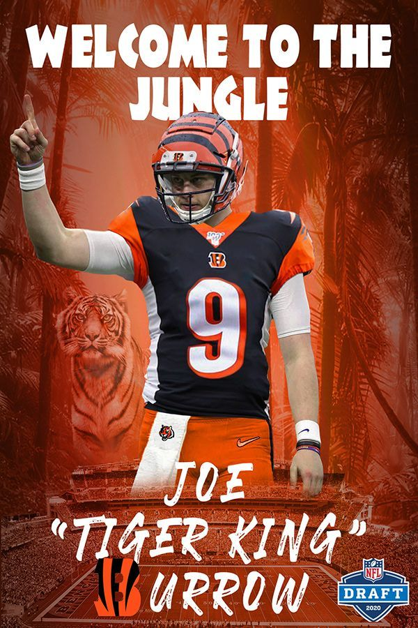 Nfl 2020 Nfl Nfl Draft Joe Burrow