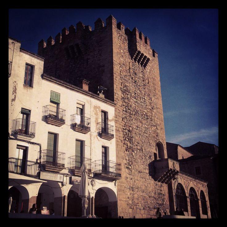 Plaza Mayor, Cáceres.