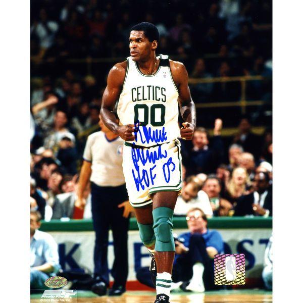 """Robert Parish Boston Celtics Fanatics Authentic Autographed 8"""" x 10"""" Photograph with HOF '03 Inscription - $53.99"""