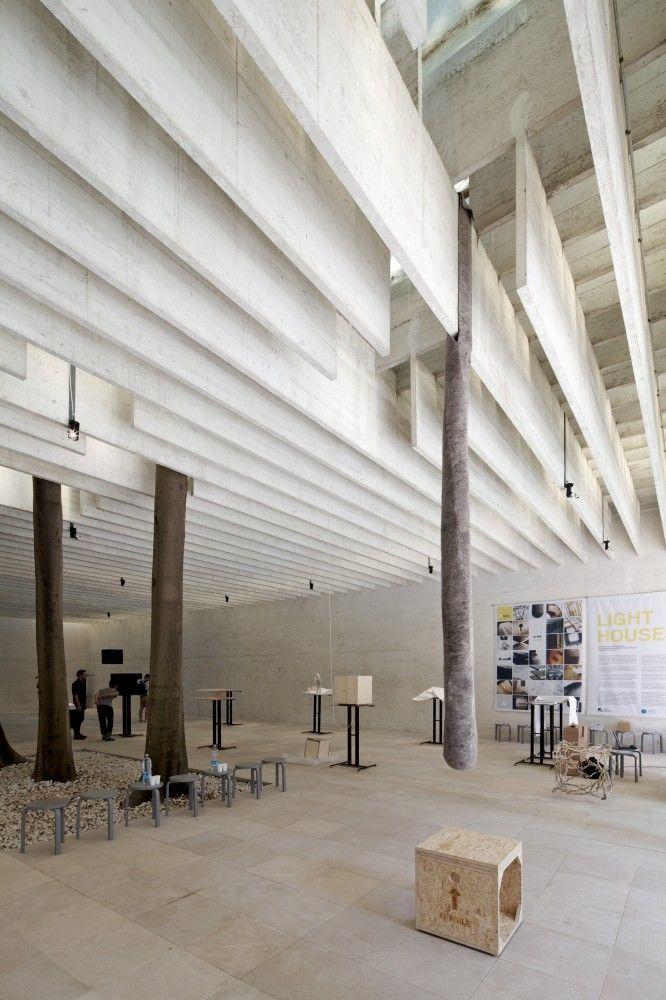 Nordic Pavilion by Sverre Fehn  Photo: Nico Saieh