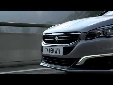 The #Peugeot508 on video !