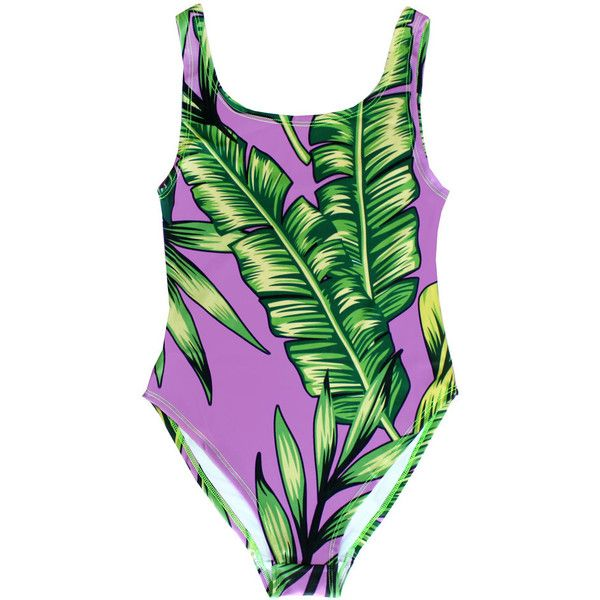 Hot Tropics Swimsuit ($40) ❤ liked on Polyvore featuring swimwear, one-piece swimsuits, green swimsuit, 1 piece bathing suits, one piece bathing suits, green bathing suit and hot pink bathing suit