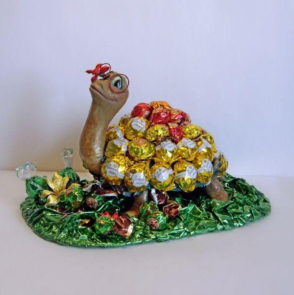 Gallery.ru / красотка - конфетный сувенир - PervocveT