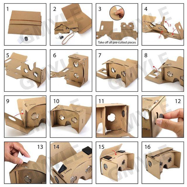Antes de comenzar a escribir mi primer reto del #VRMooc, una imagen de mi cardboard, aunque es de cartçón no las he fabricado yo, me reg...