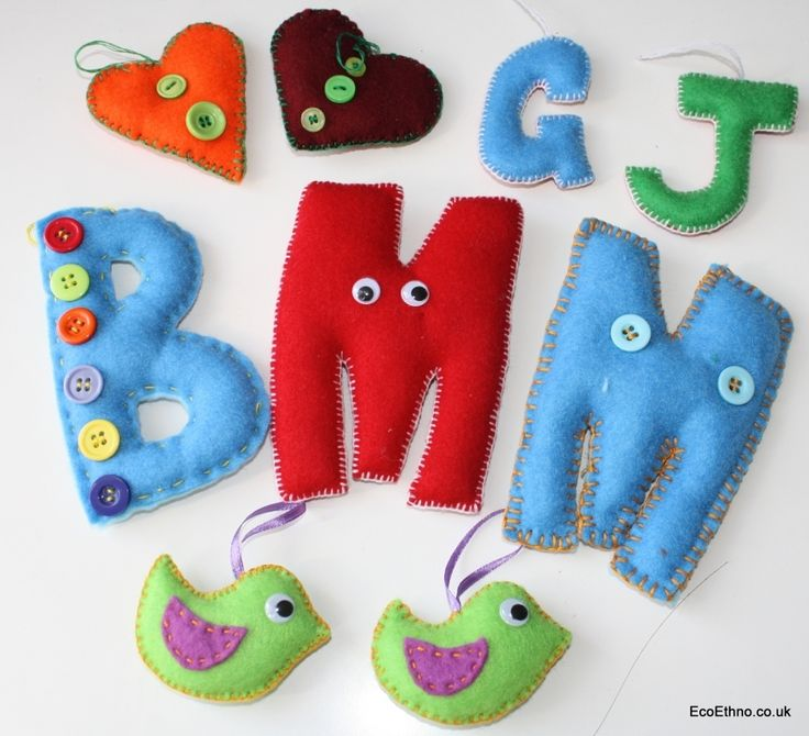 Sewing workshop. Capital letters, angels, dwarfs | eco ethno shop