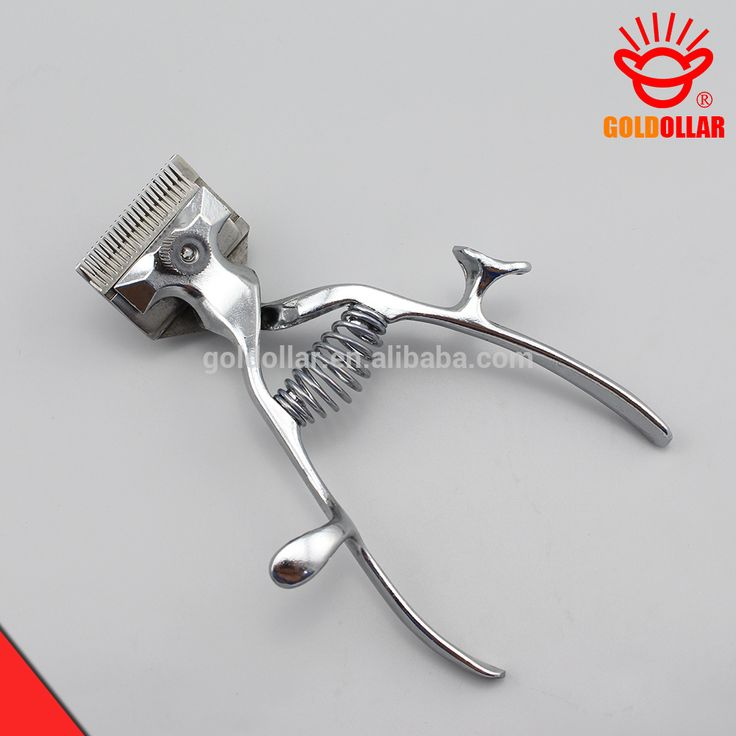 """GOLDOLLAR 221A"" Stainless steel silent hand hair clipper barber clipper"