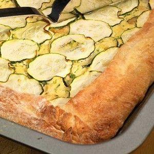 Генуэзский пирог с рикоттой и цукини