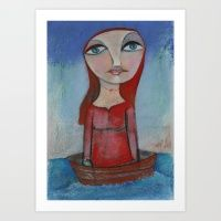 In The Ocean I Journey Art Print