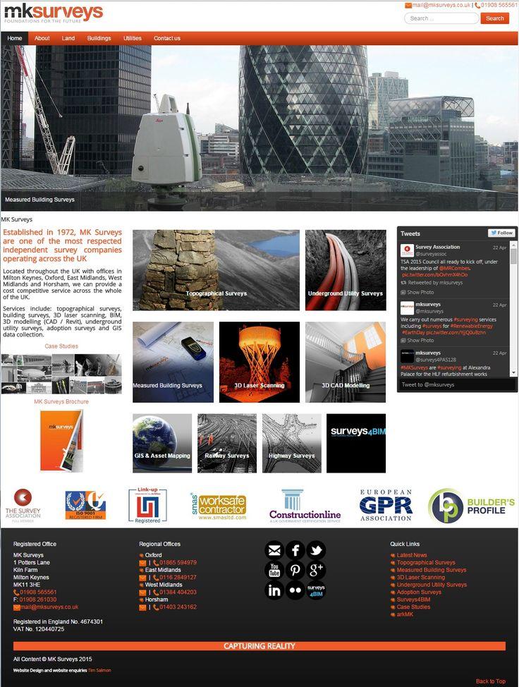 New website launch - www.mksurveys.com