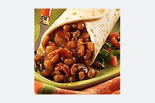 BBQ-Bacon Burritos - YUM! http://www.kraftrecipes.com/recipes/bbq-bacon-burritos-50309.aspx ...