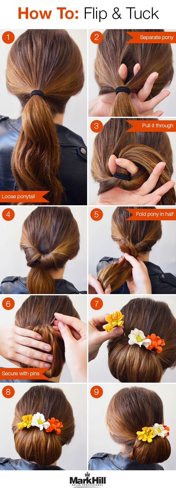 A fun updo that's simple but looks gorgeous …