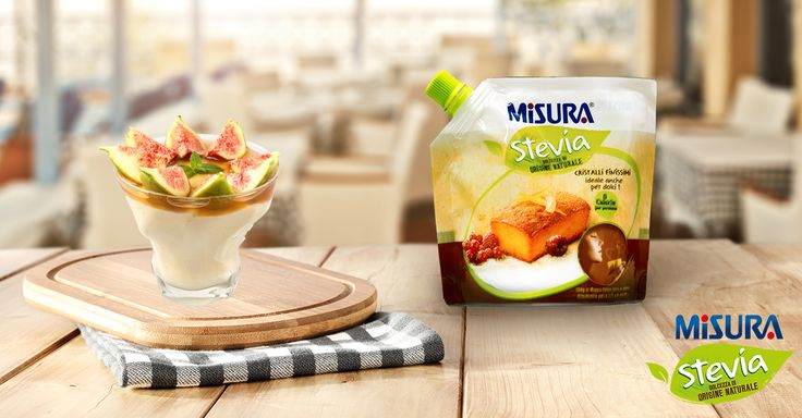 Una ricetta fresca e golosa? Semifreddo fichi e ricotta, semplicemente squisito! www.misurastevia.it #recipe #ricetta #cucina #Semifreddo #fichi #ricotta #dessert #sugarfree #nocalories #diet #cooking #natural