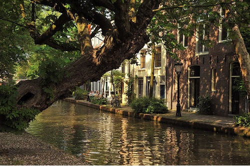 A peaceful day in Utrecht, Holland