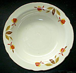 Antique Jewel Tea Co. 1930 Autumn Leaf Dessert Dish. Click the image for more information.