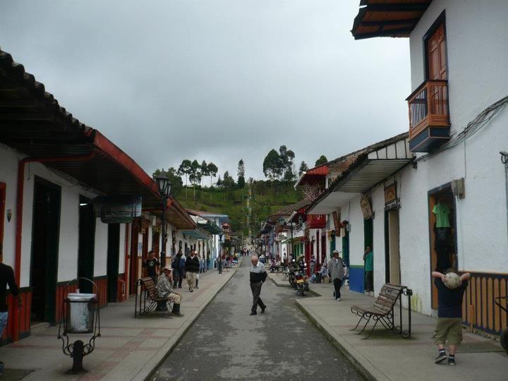 Calle Real de Salento