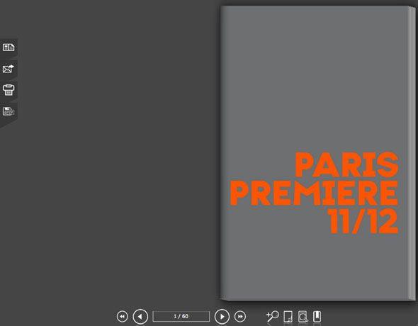 Programme de rentrée de Paris Première Pré-presse et version numérique du programme de rentrée de la chaîne. #pictus #flipbook #maquette #gravure #print #progammederentree #programme #parispremiere