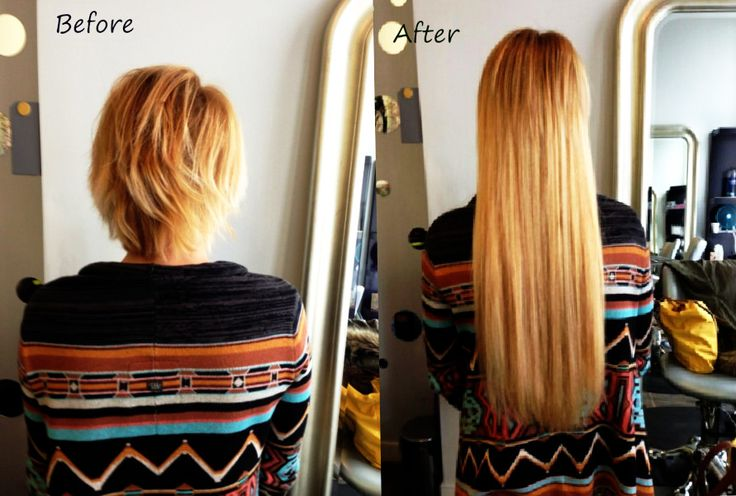 Very Short Hair With Extensions Before And After The Best Short