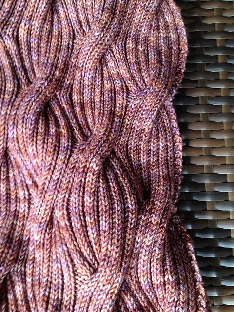 Free - Ravelry: Stephanie17's Winding River Cowl