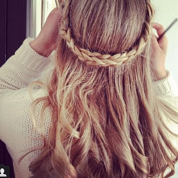 hair styles with a braid 1452 best hair styles images on hair makeup 8738