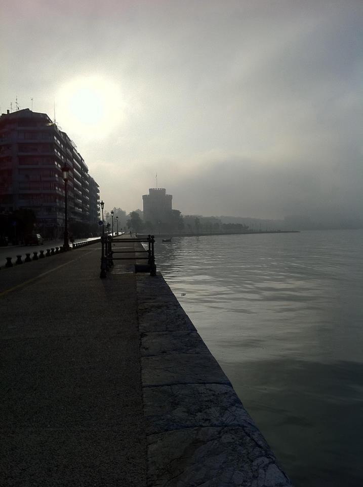 Fog in Thessaloniki