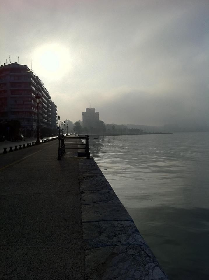 Fog in Thessaloniki