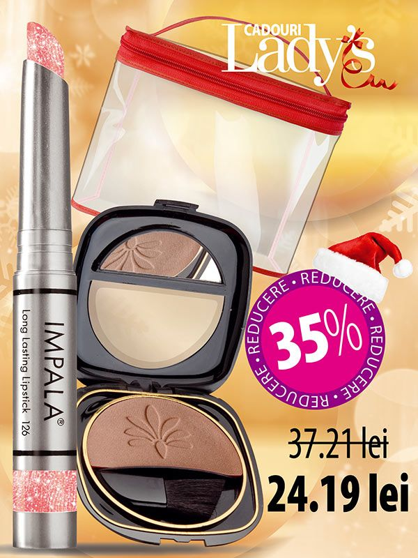 Set make up buze și fața Lady Love - Lady509 Set make up buze și fața Lady Love - Lady509, Ladys.ro