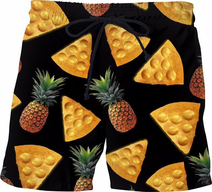 Pineapple Golden Pizza Print UMe images