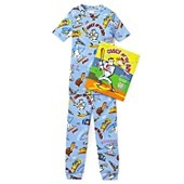 Books to Bed Boys' Casey at Bat Pajama and Book Set - Sizes 4-7
