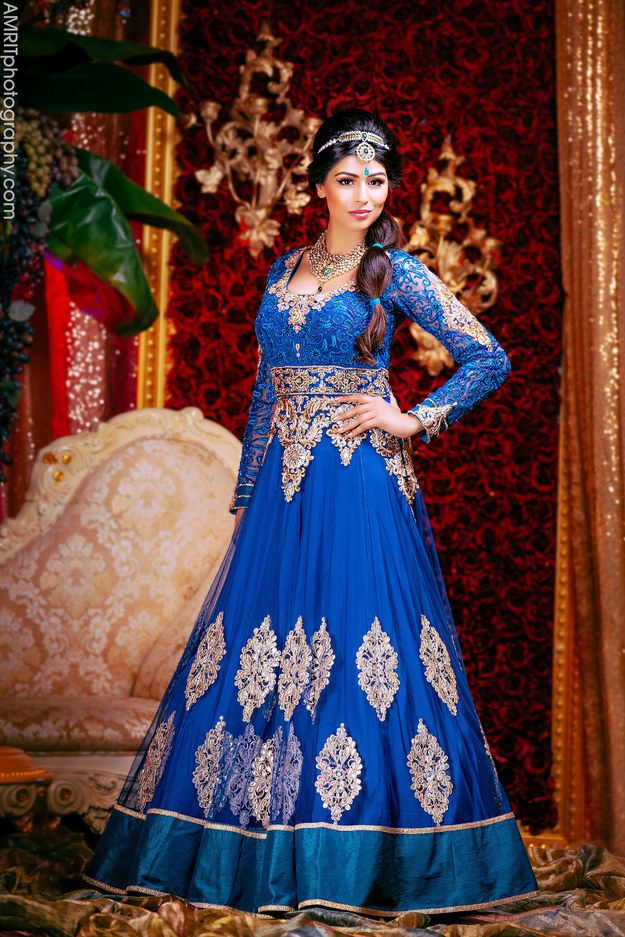 Jasmine | 9 Stunning Photographs That Reimagine Disney Princesses As Indian Brides