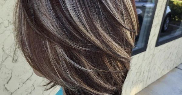 Dark Brown Hair With Ash Blonde Highlights - :) - solove - Finspi.com