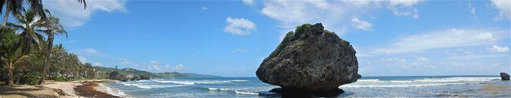 Barbade et ses différentes plages côté Atlantique (photo personnelle)