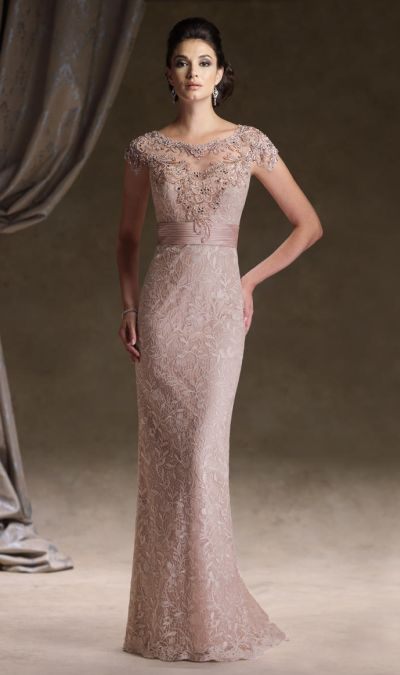 Ivonne D 113D00 Lace Mother of the Bride Dress at frenchnovelty.com