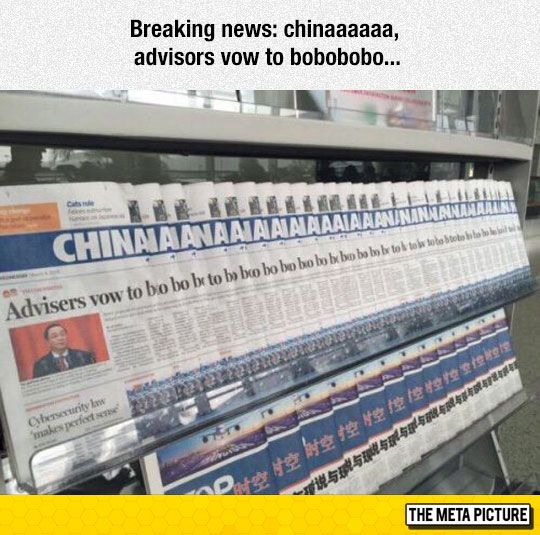 Weird News From China