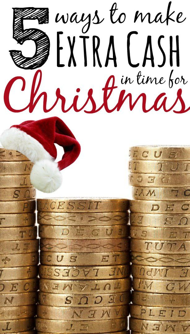 As Christmas is fast approaching, you might be concerned about how to pay for the festive season. With the average cost of Christmas rising every year, making extra money now means you won't have to resort to credit cards or other borrowing to get through the season.