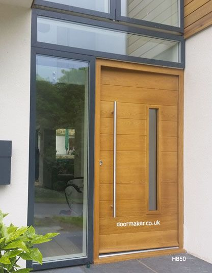 62 best images about contemporary doors on pinterest for Oak exterior doors