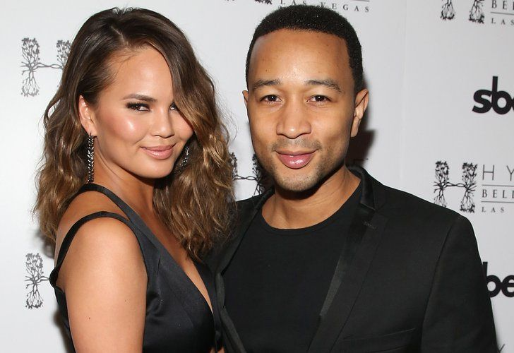 Pin for Later: Who Is the Sexiest Celebrity Couple of 2014? Chrissy Teigen and John Legend