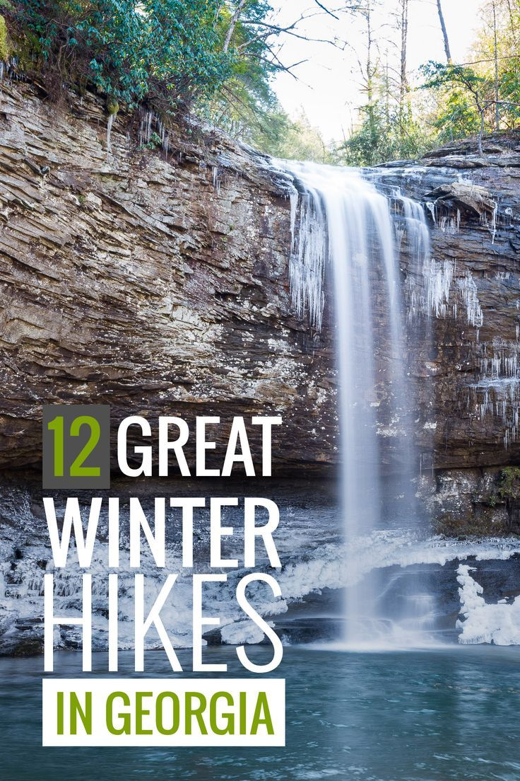 Winter Hiking in the southern state of Georgia: Our Favorite Trails
