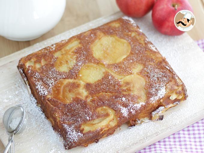 Un superbe dessert bien moelleux réalisé avec un des fruits les plus connus de vos étals de marché : la pomme ! Mais pourquoi invisible ? Et bien figurez-vous que les morceaux de pommes sont coupés de manière tellement fines que lorsqu'ils sont...