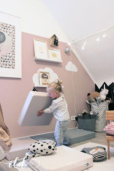 Die besten 25+ Babyzimmer mädchen Ideen auf Pinterest - gestalten rosa kinderzimmer kleine prinzessin